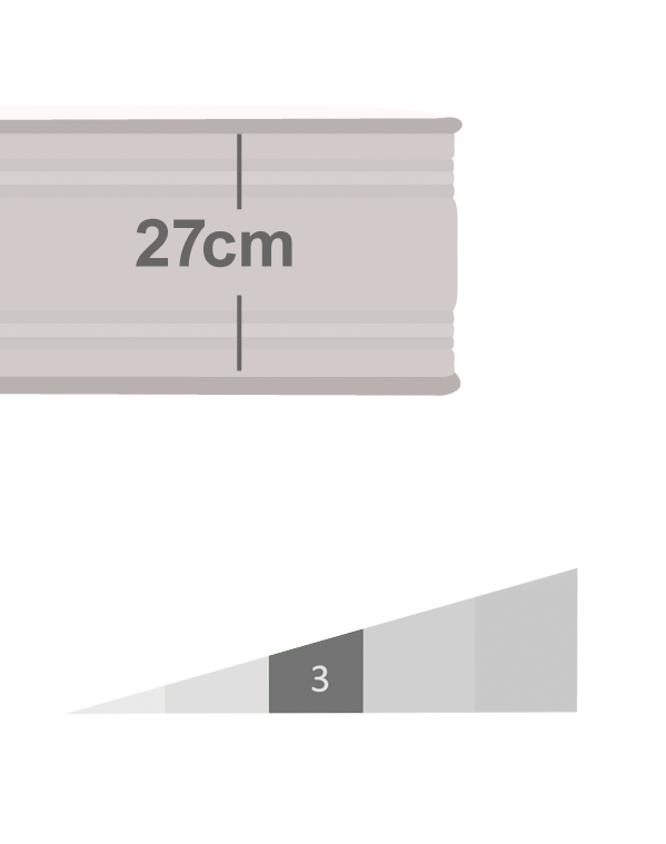 Colchón modelo Infinity Naturalia & Poligón