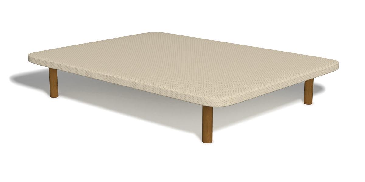 la mejor base tapizada para el colchón